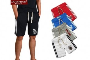 Herrshorts i sporty look