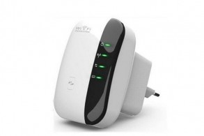 WiFi repeater med router